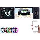 Creasono Autoradios: MP3-Autoradio mit TFT-Farbdisplay, Bluetooth, Freisprecher, 4X 45 Watt (Autoradios 1 DIN, Bluetooth)