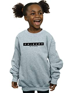 Friends Girls Logo Block Sweatshirt