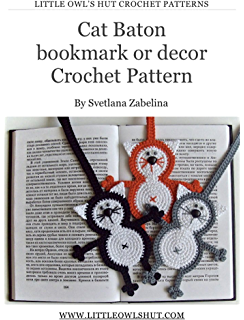 Amazon.com: Bookmark, handmade bookmark, crochet bookmark, book ... | 320x244