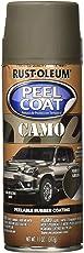 Rust-Oleum 300838 Automotive Peel Coat Camo Flat Non Reflective Spray Paint (Forest Green - 312 Grams)