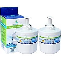 2x AH-S3F filtre à eau compatible pour Samsung réfrigérateur DA29-00003F, HAFIN1/EXP, DA97-06317A-B, Aqua-Pure Plus…