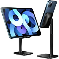 Proffisy Phone Stand Height Angle Adjustable Cell Phone Stand Phone Holder for Desk Compatible with OnePlus Redmi…