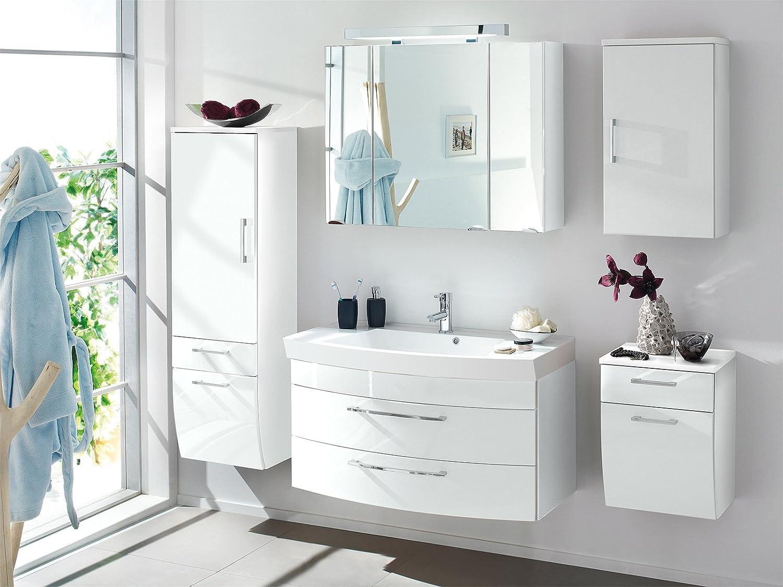Badschrank mit waschbecken  Waschplatz Unterschrank Waschtisch Badmöbel Waschbecken Badschrank ...