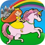 Princesa De Cuento De Hadas País De Las Maravillas Para Colorear Para Los Niños Y La Familia De Preescolar Edición Gratuita