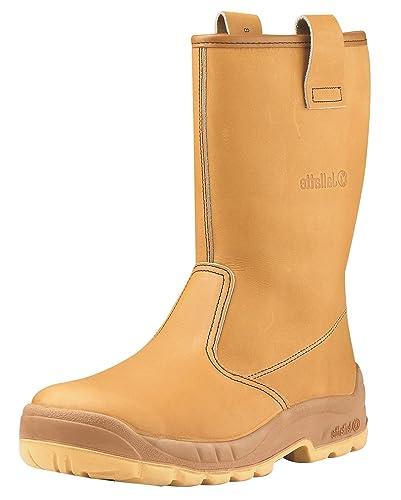 08f15a58942 Jallatte Jalaska S3 Rigger Safety Boots Size 8 UK