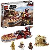 LEGO 75271 Star Wars Luke Skywalker's Landspeeder Building Set with Java Minifigure, A New Hope Movie Series