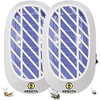 HENSITA Tueur d'insectes d'intérieur - Éliminateur d'insectes Puissant et écologique - Tueur d'insectes 2 Paquets d…