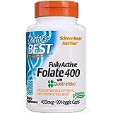 Doctor'S Best 400Mcg Fully Active Folate 400 Con Quatrefolic 90 Capsule - 200 g