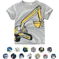 T-Shirt Bambini e Ragazzi Animale del Fumetto Modello Manica Corta T-Shirt