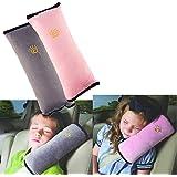 BeatlGem 2pcs Auto Pillow Cinturón de Seguridad para el Coche Protect, Almohadilla para el Hombro, Ajustar el Cinturón de Seg