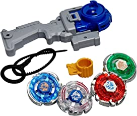 Toykart, Plastic 4 In 1 Beyblades Metal Fighter, (MSTBAYBL4IN101, Multi-colour)