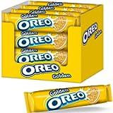 Oreo Golden Vanilla Sandwich Biscuits, 154 g, Pack of 16