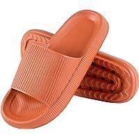 Genfien - Pantofole da bagno da donna e uomo, ad asciugatura rapida, in EVA, con punta aperta, morbide pantofole…