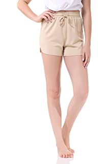 Pau1Hami1ton GP-04 Bermuda Pantaloncini Donna Solid Estate Colore Tratto Fitted Relaxed Flat Hot Walking Sport Pantaloni