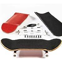PhoneNatic Skateboard de Doigt en kit - Rouge (Design 5)