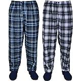 Kings Club Big Mens Big and Tall Maston Twin Pack Pyjamas Bottoms 2XL 3XL 4XL 5XL 6XL 7XL 8XL