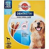 Pedigree Dentastix Snack per l'Igiene Orale (Cane Grande >25 kg), 105 Pezzi