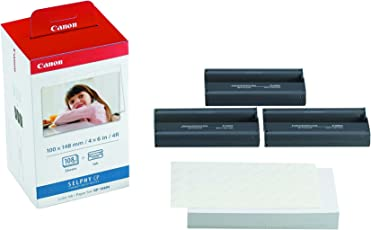 Canon 3115B001(AA) Druckerkartusche und Papier 100 x 148 mm für Selphy CP Fotodrucker-Serie