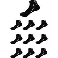 5 or 10 Pairs Mens Socks Women Low Cut Sports Socks Ankle Athletic Walking ladies socks with Heel Tab (Size 3-12)