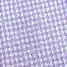 0,5 M vichy-cuadros pequeños 3 mm tela LILA/Blanco