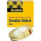 3M 665-C Scotch permanente dubbelzijdige tape [Linerless]: 3/4 in. x 36 yds. (Doorzichtig) / boxed