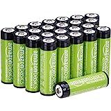 AmazonBasics AA oplaadbare batterijen 2000 mAh (pak van 24 stuks) voorgeladen