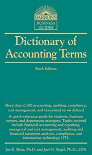 Barron's Dictionary of Accounting Term