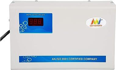 Servomate Aluminium 4 KVA Automatic Stabilizer for Upto 1.5 Ton AC (90v-300v)