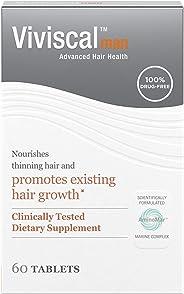Viviscal Man Maximum Strength Hair Nourishment System, 1 month supply, 60 Tablets