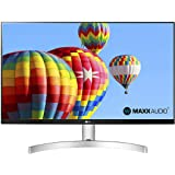 "LG 27ML600S Monitor 27"" FULL HD LED IPS, 1920x1080, 1ms MBR, AMD FreeSync 75Hz, Audio Stereo 10W, HDMI (HDCP 1.4), VGA, Uscit"