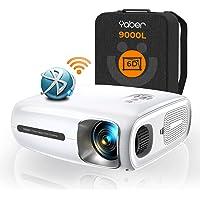 YABER 9000 Lumen Full HD 1080P Beamer WIFI Bluetooth 5G Beamer, mit 6D Auto Trapezkorrektur&4P/4D, Support 4K&Infinity…