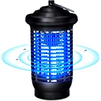 VOKSUN Mosquito Killer Lamp, 15W Mosquito Killer Bug Zapper Catcher, 360 ° UV light Attraction Electric Mosquito Killer, Outdoor Waterproof Fly Insect Trap Wasp Control for Home Garden, UK Plug
