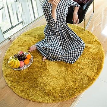 Amazonde Qiangzi Moderne Hochwertige Teppiche Runder Teppich Home Wohnzimmer Schlafzimmer Sofa