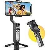 hohem Gimbal Smartphone 3 Assi Stabilizzatore Smartphone Portatile con 5 modalità per Vlog/Youtuber, Stabilizzatore Video Car