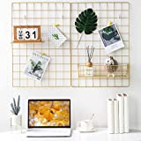 BULYZER Grid Wall, para Memo Decoración de panel de imagen para sala de oficina Colgante de fotos Marcos de exhibición de art