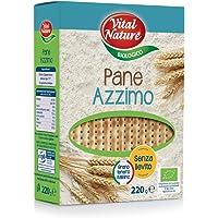 Vital Nature Spa Pane Azzimo Classico Bio - Pacco da 15 x 220g