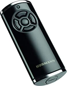 3 x H/örmann HSE2-868-BS black hand-held transmitter 868.3 MHz BiSecur 2-channel remote control.
