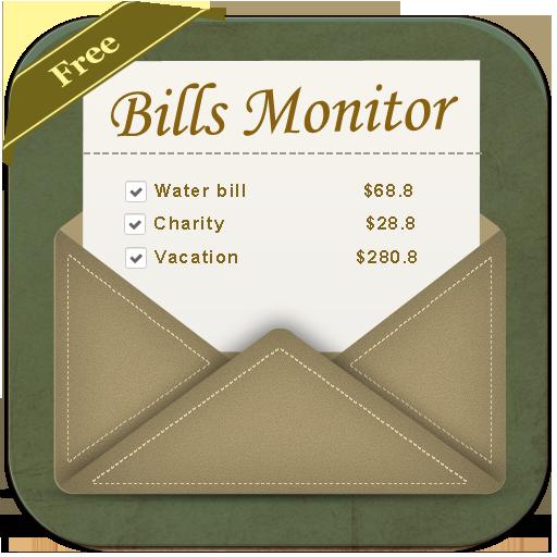 Bills Monitor Free