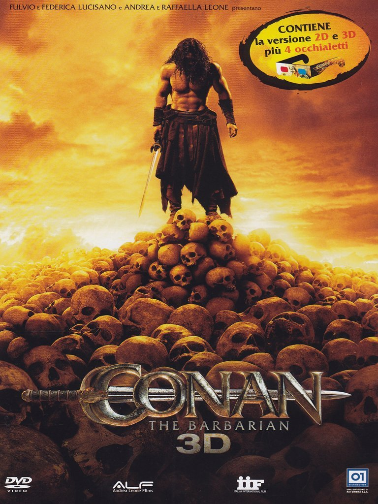 Conan The Barbarian (3D) (1 DVD 3D+1 DVD 2D+Occhiali)