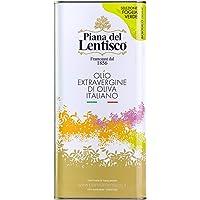 Piana del Lentisco Olio Extravergine di Oliva BIOLOGICO - 100% ITALIANO - gusto delicato -5 litri
