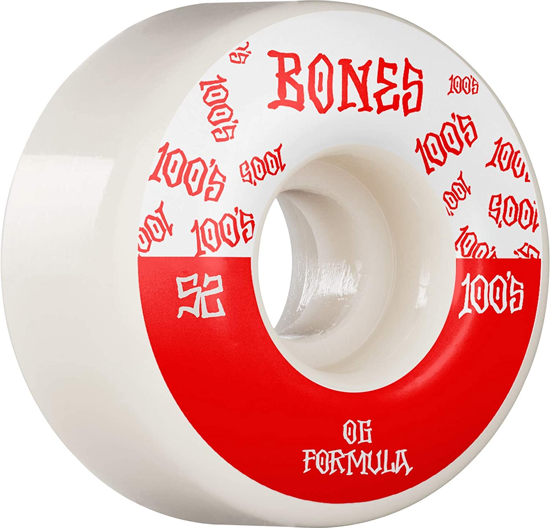 Bones Wheels 100's V4 52mm