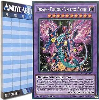 SCR 1 TOP YU-GI-OH mp17-de147 fame veleno-Fusion Drago edizione