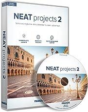 FRANZIS NEAT projects 2|2|Für bis zu 3 Geräte|zeitlich unbegrenzt|Bildbearbeitungsprogramm für Windows PC und Mac OS X|Disc|Disc