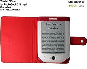 Spartechnik Rote Tasche Für Pocketbook 611 Pocketbook Elektronik