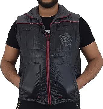 Men's Premium summer Bodywarmers by soul star 2 chest pockets side zip pockets