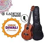 KadenceKAD-UKU 4 Auila 24 Concert Sized Ukulele( Brown )