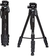 Jmary 2234 Upto 5.2ft Professional 360 Panorama Ball head Stand Aluminium Tripod for All DSLR Cameras (Black)