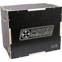 POWER GUIDANCE 3 in 1 Pliometrica Saltare Scatola Ideale per Allenamento a Croce Plyo Jump Box