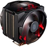 Cooler Master MasterAir Maker 8 Ventilateurs de processeur '8 Heatpipes, 2x Silencio FP PWM ventilateurs, LED Rouge' MAZ-T8PN-418PR-R1