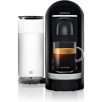 Krups Nespresso xn9008 vertuo Plus Cafetera de cápsulas, color negro